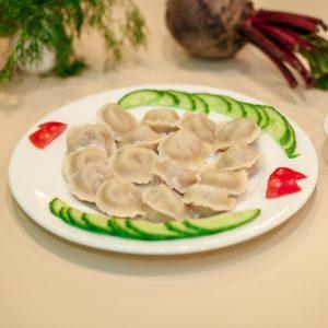 Pelmeni thịt lơn luộc