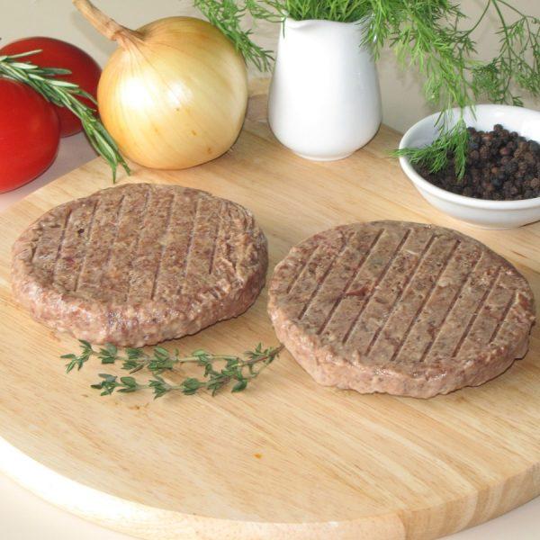 Cutlet thịt bò và gan gà